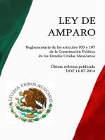Ley de Amparo, Reglamentaria de los artículos 103 y 107 de la Constitución Política de los Estados Unidos Mexicanos