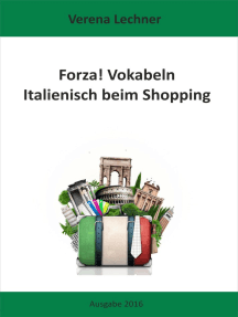 Forza! Vokabeln: Italienisch beim Shopping