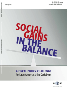 Latin America and the Caribbean Poverty and Labor Brief, February 2014: Ganancias Sociales en la Balanza - Un Desafío de la Política Fiscal para América Latina y el Caribe