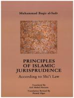 Principles of Islamic Jurisprudence [translated]: According to Shi'i Law