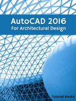 AutoCAD 2016 For Architectural Design