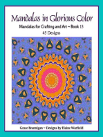 Mandalas in Glorious Color Book 13