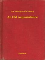 An Old Acquaintance