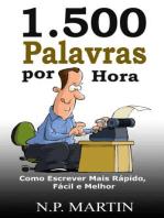 1.500 Palavras por Hora