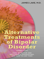 Alternative Treatments of Bipolar Disorder