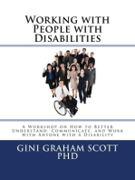 Working with People with Disabilities