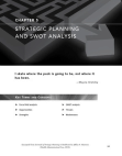 Steps in SWOT Analysis