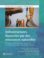 Infrastructures financées par des ressources naturelles: Examen d'un nouveau mode de financement des infrastructures