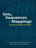 Sets, Sequences and Mappings: The Basic Concepts of Analysis