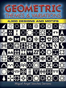 Geometric Themes and Variations: 4,300 Designs and Motifs