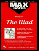 The Iliad (MAXNotes Literature Guides)