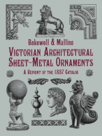 Victorian Architectural Sheet-Metal Ornaments