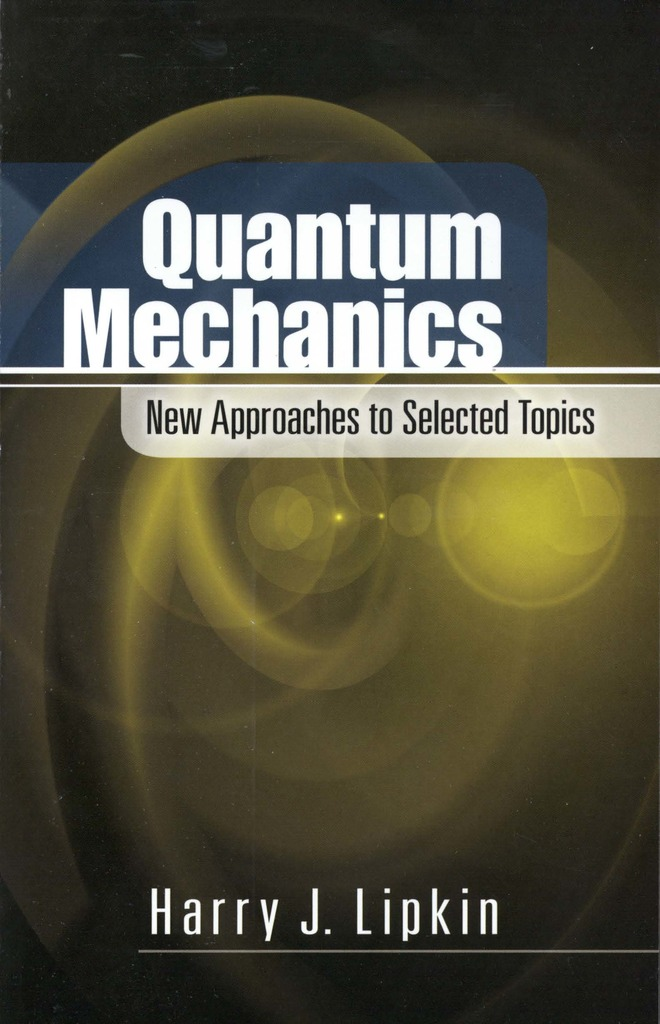 Quantum Mechanics By Harry J  Lipkin - Book