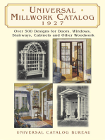 Universal Millwork Catalog, 1927