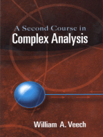 A Second Course in Complex Analysis