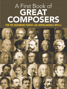A First Book of Great Composers: for the Beginning Pianist with Downloadable MP3s