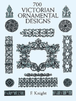 700 Victorian Ornamental Designs