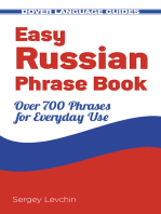 Easy Russian Phrase Book NEW EDITION