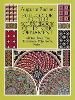 Full-Color Picture Sourcebook of Historic Ornament