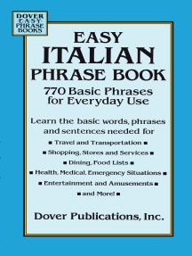 Read Easy Italian Phrase Book Online By Dover Books