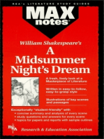 A Midsummer Night's Dream (MAXNotes Literature Guides)