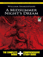 A Midsummer Night's Dream Thrift Study Edition