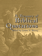 A Treasury of Biblical Quotations