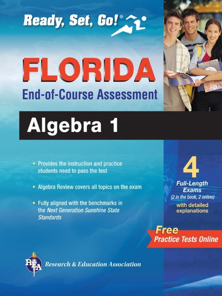 Florida Algebra I EOC with Online Practice Tests by ...