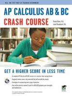 AP Calculus AB & BC Crash Course