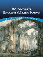 100 Favorite English and Irish Poems