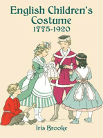 English Children's Costume 1775-1920