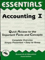 Accounting I Essentials