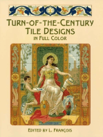 Turn-of-the-Century Tile Designs in Full Color