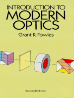 Introduction to Modern Optics