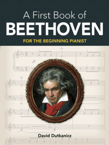 A First Book of Beethoven: 24 Arrangements for the Beginning Pianist with Downloadable MP3s