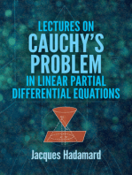 Lectures on Cauchy's Problem in Linear Partial Differential Equations