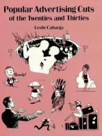 Popular Advertising Cuts of the Twenties and Thirties