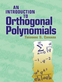An Introduction to Orthogonal Polynomials by Theodore S