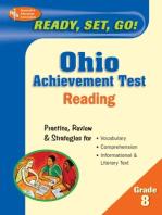 Ohio Achievement Test, Grade 8 Reading