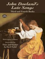 John Dowland's Lute Songs