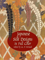 Japanese Silk Designs in Full Color