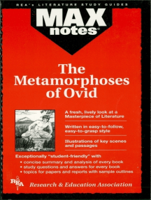 The Metamorphoses of Ovid (MAXNotes Literature Guides)