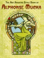 The Art Nouveau Style Book of Alphonse Mucha