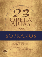 Twenty-Three Opera Arias for Sopranos