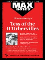 Tess of the D'Urbervilles (MAXNotes Literature Guides)