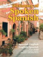 Dictionary of Spoken Spanish