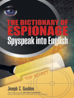 The Dictionary of Espionage