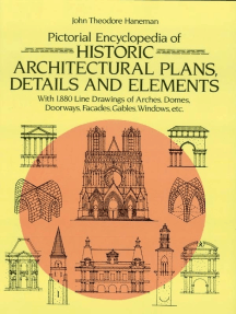 Pictorial Encyclopedia of Historic Architectural Plans, Details and Elements: With 1880 Line Drawings of Arches, Domes, Doorways, Facades, Gables, Windows, etc.