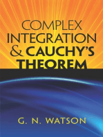 Complex Integration and Cauchy's Theorem