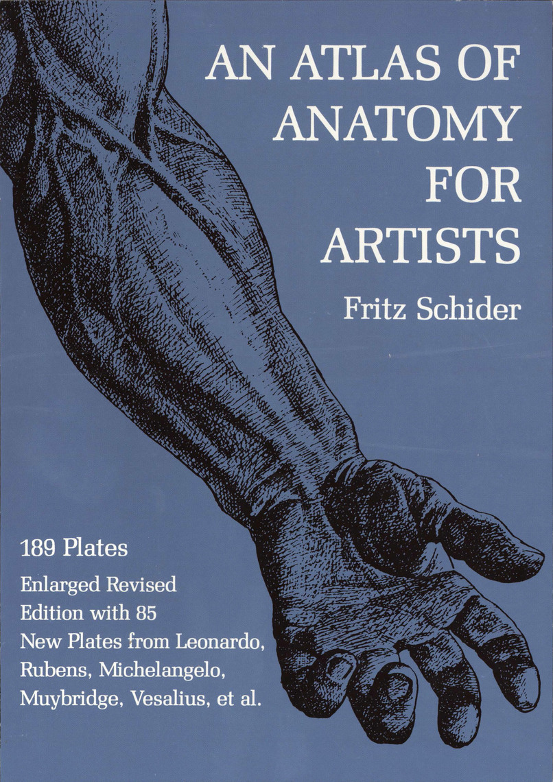 An Atlas of Anatomy for Artists by Fritz Schider by Fritz Schider ...